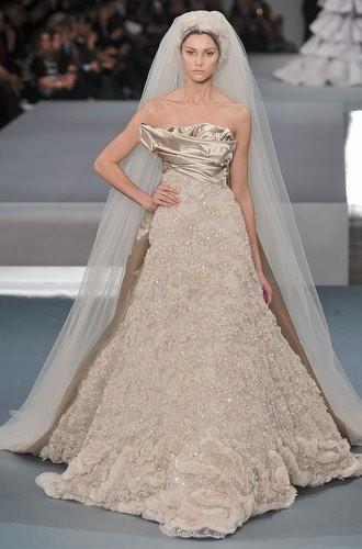 Archives = Robe de mariée Elie Saab, Haute Couture Automne-Hiver 2009 ...
