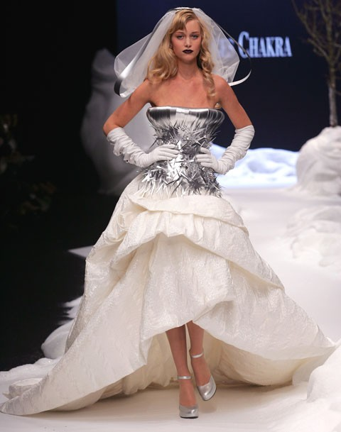 Robes de mari e mariage chic for Prix de robe de mariage en or georges chakra
